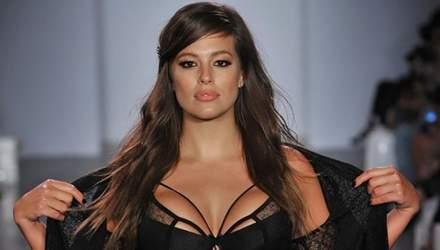 Пышнотелая модель Эшли Грэм обнажила грудь на церемонии Оскар: откровенные фото