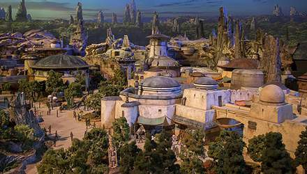 """Disney будує новий парк розваг, присвячений """"Зоряним війнам"""""""