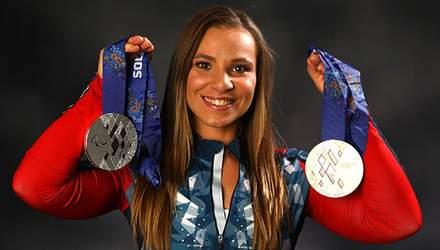 Уродженка України Оксана Мастерс здобула срібну медаль Паралімпіади-2018