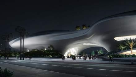 Космічний корабель посеред  Лос-Анджелесу: як виглядатиме музей Джорджа Лукаса