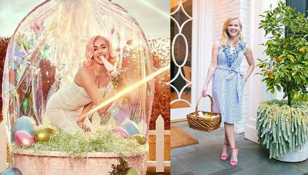 Як зірки святкували Великдень: яскраві фото