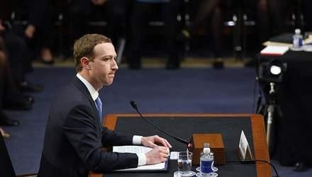 """Шпаргалка Цукерберга: """"откровения"""" основателя Facebook в Сенате США и стоит ли им верить"""