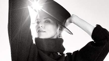 Изысканная Шарлиз Терон снялась для обложки ELLE: фото