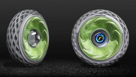 Компанія Goodyear запропонувала концепт шин з натуральним мохом
