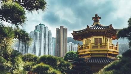 Краса природи та урбанізм: фотограф показав контрастний колорит Гонконгу