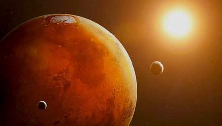 Спутники Марса возникли в результате столкновения планеты с другой планетой-карликом
