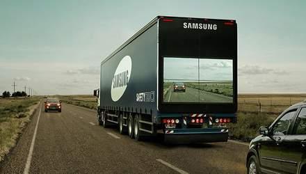 Safety Truck: як за допомогою нової технології можна безпечно обігнати вантажівку