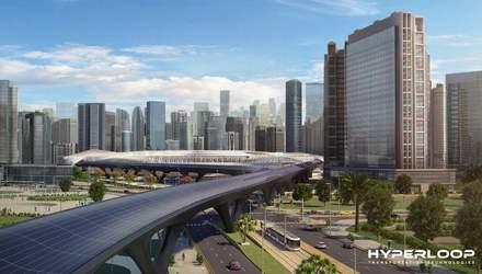 Першу лінію Hyperloop планують запустити вже через 2 роки