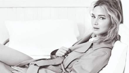 Дженнифер Лоуренс предстала в новом кампейне Dior: стильные фото