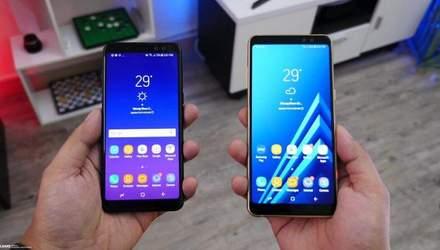 Samsung офіційно представила Galaxy A6 та Galaxy A6 Plus: характеристики, ціна
