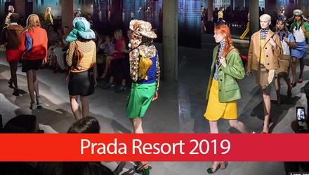 Чим вразила нова круїзна колекція Prada Resort 2019: яскраві фото з подіуму