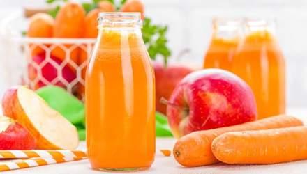 Напиток жаркого дня: морковно-яблочный смузи с бананом и имбирем