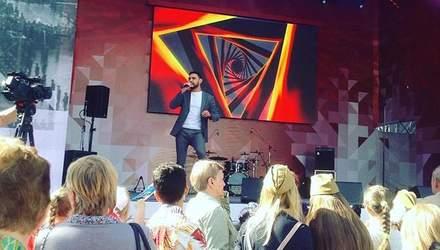 Віталій Козловський виступив у Москві на концерті до 9 травня: фото