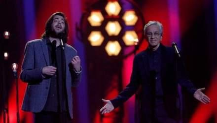 В финале Евровидения 2018 Сальвадор Собрал спел с обладателем Грэмми