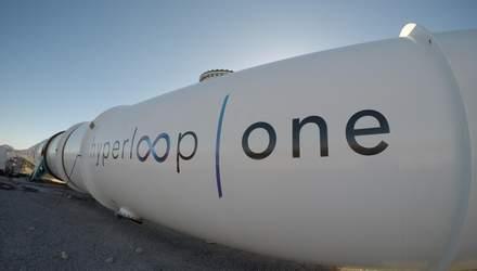 У Дніпрі обрали місце для будівництва тестового майданчика Hyperloop