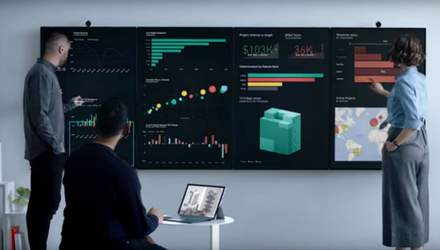 Виглядає ефектно: Microsoft показав 50,5-дюймовий екран