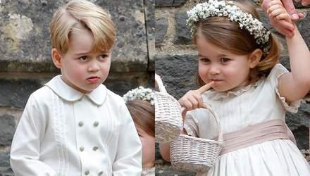 Діти Кейт Міддлтон стануть помічниками на весіллі Маркл і принца Гаррі