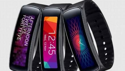 Новинка від Samsung: з'явилась інформація про  фітнес-браслет Gear Fit Plus