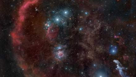 """Астрономы создали самую детальную карту """"колыбели"""" звезд похожих на Солнце"""