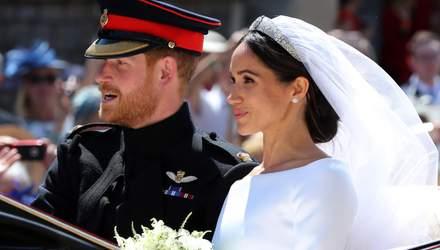 Принц Гарри и Меган Маркл поженились: первый совместный выход супругов – сказочные фото