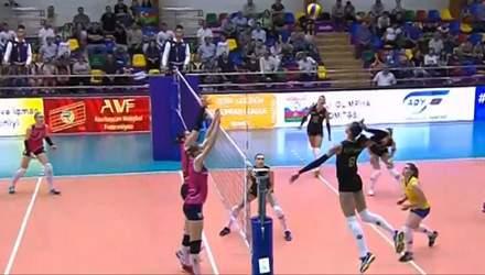 Женская сборная Украины по волейболу стартовала с поражения на Евролиге