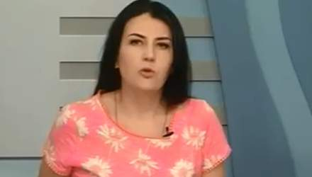 """""""Грязный и вонючий министр"""": украинская телеведущая опозорилась в эфире"""