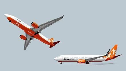 Новый украинский лоукостер SkyUp совершил свой первый рейс
