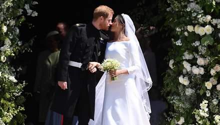 Гості з весілля принца Гаррі та Меган Маркл розпродають сувеніри: фото