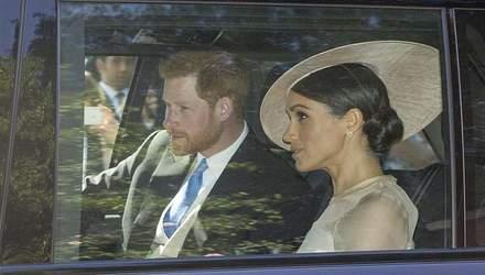 Первый выход Меган Маркл и принца Гарри в статусе супругов: фото