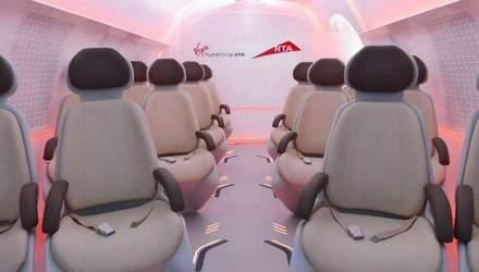 Як виглядатиме капсула Hyperloop всередині: з'явились фото