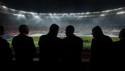 Финал Лиги Чемпионов в Киеве: Порошенко показал, с кем пошел на футбол