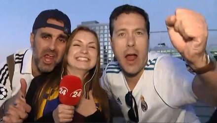 """Смешные фаны, которые решили """"влезть"""" в кадр: смешные фото и видео об атмосфере финала ЛЧ"""
