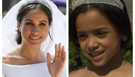 Американские дети воссоздали свадебный образ принца Гарри и Меган Маркл для фотосессии