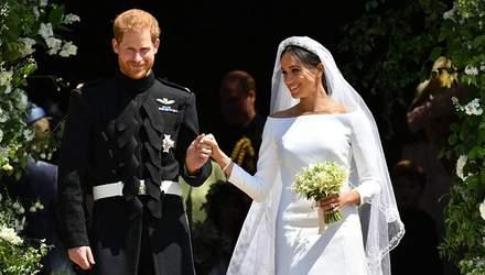 Дизайнера свадебного платья Меган Маркл заподозрили в плагиате: фотосравнение