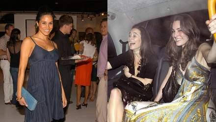 Как выглядели Кейт Миддлтон и Меган Маркл до королевской жизни: архивные фото
