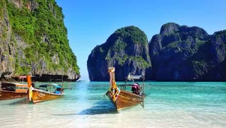 Райський пляж в Таїланді закриють через голлівудського актора