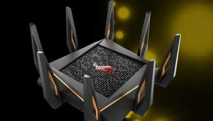Asus презентувала перший у світі 10-гігабітний роутер