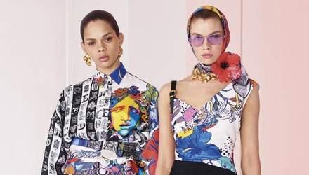 Нова медуза – образ сильної і незалежної: фото неймовірної колекції Versace Resort 2019