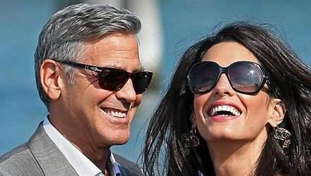 Джордж та Амаль Клуні відправились на відпочинок в Італію: яскраві фото