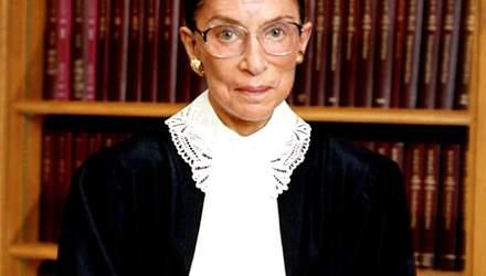 Рус Гинсбург – дочь одессита, которая стала верховным судьей США