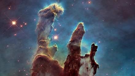 Ученые обнаружили, что магнитные поля замедляют эволюцию Столпов Творения