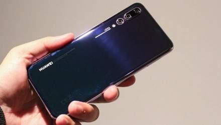Смартфон Huawei P20 Pro побил очередной рекорд