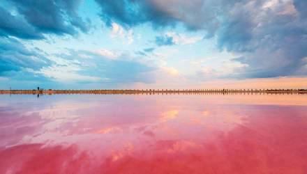 Рожеве озеро на Херсонщині: які лікувальні властивості має водойма