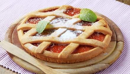 Итальянская кростата с джемом: рецепт вкусной выпечки