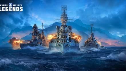 Разработчики анонсировали выход игры World of Warships: Legends на PlayStation 4 и Xbox One