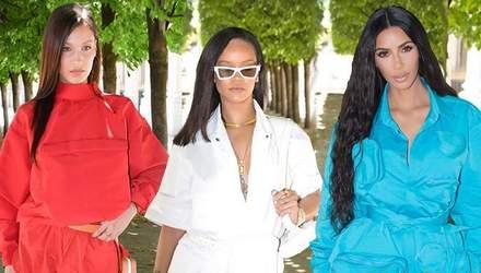 Знаменитости посетили модный показ новой коллекции Louis Vuitton: яркие фото