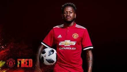 """Фреда офіційно представили в """"Манчестер Юнайтед"""""""