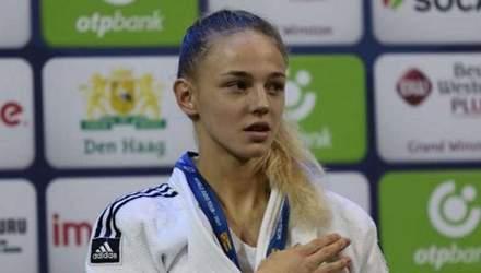 Українка Білодід виграла золоту медаль на етапі Кубка Європи з дзюдо
