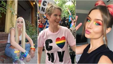 Як зірки відсвяткували Pride Parade 2018: яскраві фото з вулиць Нью-Йорка