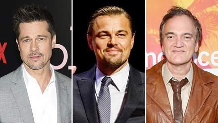 Як змінилися Леонардо Ді Капріо і Бред Пітт для фільму Тарантіно: перше фото